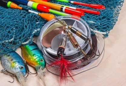Umělé nástrahy na ryby
