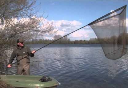 Podběráky a další rybářská síťovina
